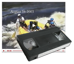VHS video conversion