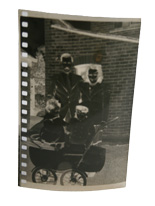 Enhancements to a damaged negative from the 1940s